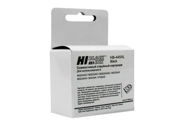 Картридж Hi-Black (HB-PG-445XL) для Canon PIXMA MX2440/2540, Bk