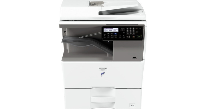 МФУ Sharp NANO MXB350W Ч/Б, A4, 35 стр/мин, RSPF, дуплекс, сеть, 1Гб, WiFi, факс, PS3, 1x500л, тонер
